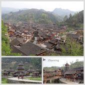 l'indigo de Zhaoxing - chez Elisa