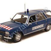 Redif : Peugeot 504 break gendarmerie Minichamps au 1/43ème -
