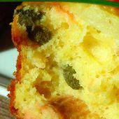 Petits cakes salés Saumon, Câpres, Ananas - Entre rire et cuisine...