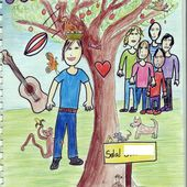 Wonderful Life, a comic strip by Solal (5°3), writer and illustrator !