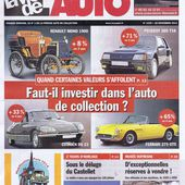 l'automobile de collection: un placement rentable ?