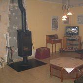 Installation du poêle à bois, chez Mamigoz - Chez Mamigoz