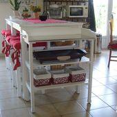 Table de rempotage, maintenant Table pour plancha - Chez Mamigoz