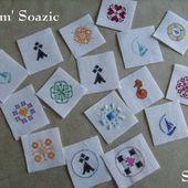 10 000 Badges pour la SNSM, nouvelles grilles - Chez Mamigoz