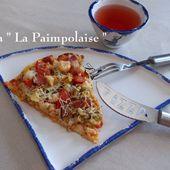 """Pizza """" La Paimpolaise """" du Petit Bistro de Mamigoz - Chez Mamigoz"""