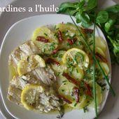Les Sardines à l'huile d'olive, de Mamigoz - Chez Mamigoz