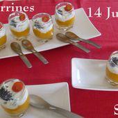 Verrines du 14 Juillet, au Petit Bistro de Mamigoz - Chez Mamigoz
