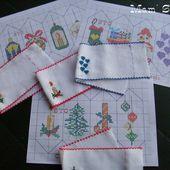Enveloppes de voeux sur bande Aïda, chez Mamigoz - Chez Mamigoz