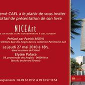 Hervé Caël présente son livre Nice Art