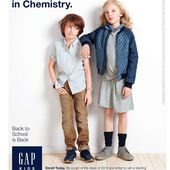 Les plus de Back to School (9) : le plus branché : Gap Kids
