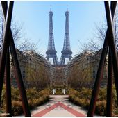 The Twin Towers of Paris - Images du Beau du Monde