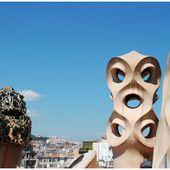 Barcelona, Sophie Marceau, clin d'oeil - Images du Beau du Monde