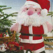 Tutoriel Couture ET Tricot : un Père Noël