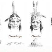 Les iroquois ou la ligue des 6 nations - coco Magnanville