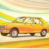 CARTE POSTALE PEUGEOT 104 1972 - car-collector.net