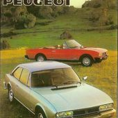CARTE POSTALE PEUGEOT 504 COUPE ET CABRIOLET AUTOMOBILE FRANCAISE - car-collector.net