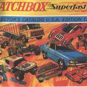 LISTE DES CATALOGUES MATCHBOX - car-collector.net