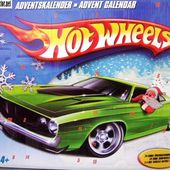 CALENDRIER DE L'AVENT HOT WHEELS 2008 BOITE DE NOEL - car-collector.net