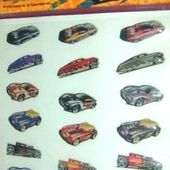 LOT 3 PLANCHES STICKERS HOT WHEELS PANINI FRANCE AUTOCOLLANTS - car-collector.net