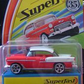 CHEVROLET BEL AIR 1955 MATCHBOX SUPERFAST LIMITED EDITION 2004 - car-collector.net