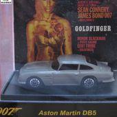 ASTON MARTIN DB5 JAMES BOND 007 GOLDFINGER SEAN CONNERY - car-collector.net
