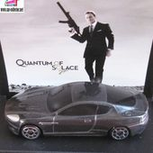 ASTON MARTIN DBS 2008 JAMES BOND 007 QUANTUM OF SOLACE CADEAU SHELL - car-collector.net