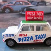 ROVER MINI BELLA PIZZA TAXI NAPOLI SIKU - MINI COOPER - MINI 1000 - car-collector