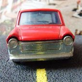 AUTOBIANCHI A112 ROUGE POLITOYS 1/43 - car-collector.net