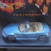 BMW Z3 ROADSTER 1/64 JAMES BOND 007 GOLDENEYE PROMO SHELL - car-collector.net