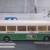 AUTOBUS CONCORDE - CHAMPS ELYSEES - MAJORETTE 1/87 - car-collector.net