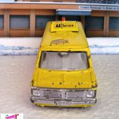 BEDFORD VAN COULEUR JAUNE AA SERVICE DINKY TOYS 1/43 - car-collector.net