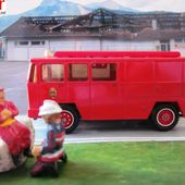 CAMION BERLIET GAK 17 POMPIERS FOURGON MIXTE SOLIDO 1/55 - car-collector.net
