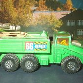 RECOVERY VEHICLE CAMION DEPANNEUSE MATCHBOX SERIE BATTLE KINGS - car-collector