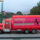 CAMION KENWORTH FERRARI HOT WHEELS - car-collector.net