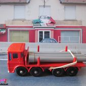 PIPE TRUCK CAMION LEYLAND ERGOMATIC CAB MATCHBOX LESNEY - car-collector