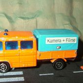 233-B MERCEDES 508D DOUBLE CABINE TRAVAUX PUBLICS MAJORETTE 1/70 - car-collector.net