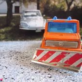 MERCEDES UNIMOG CHASSE NEIGE MAJORETTE 1/82 - car-collector.net