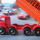 MB17-d. FODEN TIPPER HOVERINGHAM MATCHBOX CAMION BENNE DE TRANSPORT DE GRAVIERS - car-collector.net