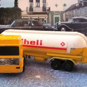 VOLVO CAMION CITERNE SHELL MAJORETTE 1/100 - car-collector