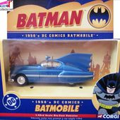 1950'S DC COMICS BATMOBILE BATMAN CORGI 1/43 MINIATURE CARCOLLECTOR - car-collector.net