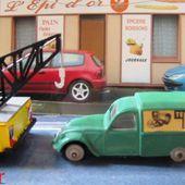 CITROEN 2CV FOURGONNETTE TEPPAZ LES MINIATURES DE NOREV 1/43 - car-collector.net