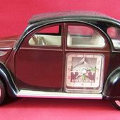 REVEIL CITROEN 2CV CHARLESTON CONTACT DESIGN PENDULE 2CV SONNERIE ROCK - car-collector.net