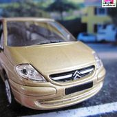 FASCICULE N°39 CITROEN C8 COGNAC 1/43 NOREV COLLECTION HACHETTE - car-collector.net