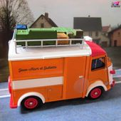 QUELQUES MODELES DE LA COLLECTION HACHETTE CITROEN TYPE H - car-collector.net