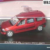 RENAULT DACIA LOGAN MCV 2006 7 PLACES 1/43 ELIGOR - car-collector.net