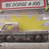 65 DODGE A-100 PICK-UP JADA TOYS 1/64 DODGE A100 PICKUP 1965 - car-collector.net