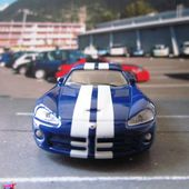 FASCICULE N°1 DODGE VIPER 1/55 SUPER BOLIDES HACHETTE COLLECTION - car-collector.net
