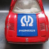 FERRARI 308 GTB PIONEER 1981 MATCHBOX 1/55 - car-collector.net