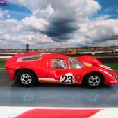 FERRARI 330 P4 HOT WHEELS 1/64 FERRARI LE MANS F330 - car-collector