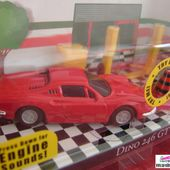 GARAGE FERRARI DINO 246 GT BURAGO 1/43 - car-collector.net